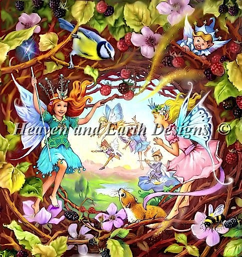 click here to view larger image of Peering in To Fairyland (chart)