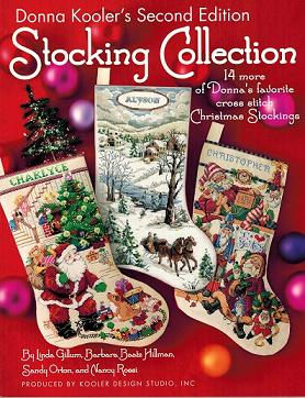 click here to view larger image of Donna Koolers Second Edition Stocking Collection   (book)