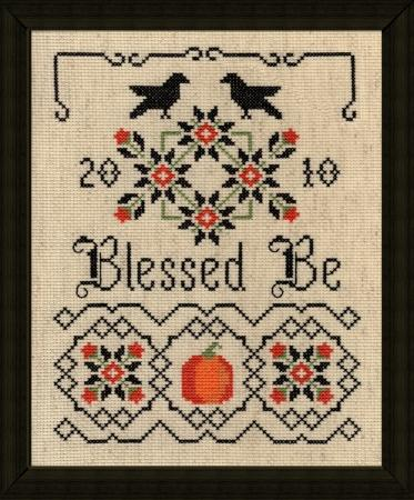 click here to view larger image of Blessed Be (chart)