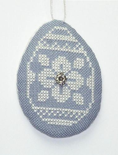 click here to view larger image of Wedgewood Egg 2 (chart with charms/buttons)