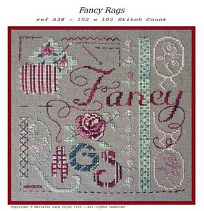 click here to view larger image of Fancy Rags (chart)