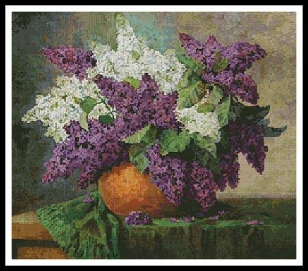 click here to view larger image of Lilacs  (Max Streckenbach) (chart)