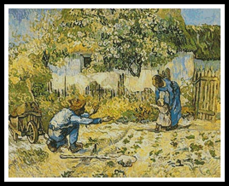 click here to view larger image of First Steps  (Vincent van Gogh) (chart)
