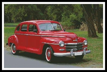click here to view larger image of Old Red Car  (chart)