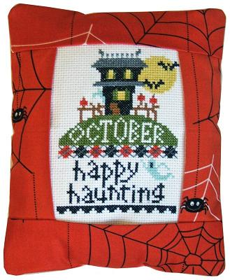 click here to view larger image of October Happy Haunting (counted cross stitch kit)