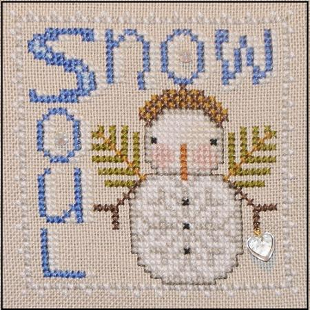 click here to view larger image of Wordplay - Snow Soul (chart with charms/buttons)