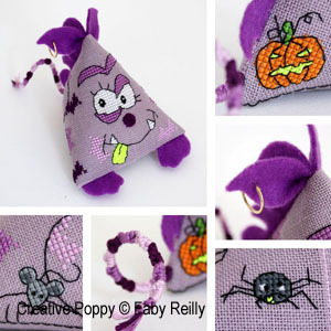 click here to view larger image of Batty Buddy Bug (chart)