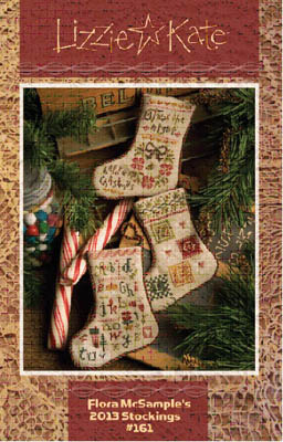 click here to view larger image of Flora McSample's 2013 stockings (chart)
