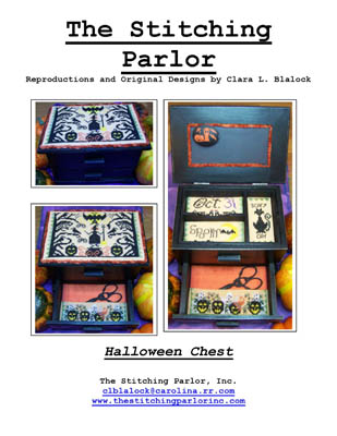 click here to view larger image of Halloween Chest (chart)