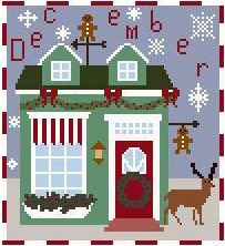 click here to view larger image of Gingerbread Getaway - December Sugar Shack Series (chart)