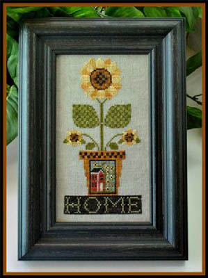 click here to view larger image of Home is Where the Sunflower Grows (chart)