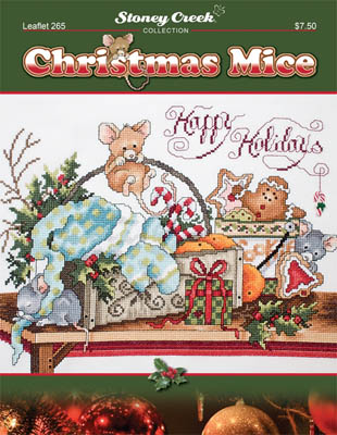 click here to view larger image of Christmas Mice (chart)