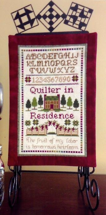 click here to view larger image of Fruit of my Labor - Quilter (chart)