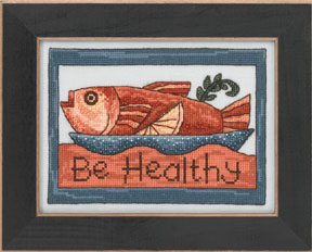 click here to view larger image of Be Healthy - 2013 Sticks Kits (counted cross stitch kit)