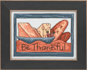click here to view larger image of Be Thankful - 2013 Sticks Kit (counted cross stitch kit)