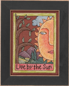 click here to view larger image of Live By The Sun - 2013 Sticks Kits (counted cross stitch kit)