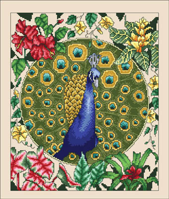 click here to view larger image of Peacock Paradise (chart)
