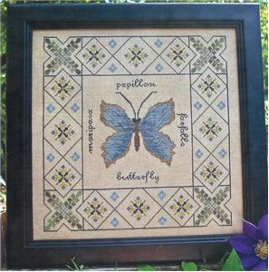 click here to view larger image of Butterfly Garden (chart)