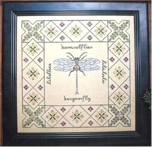 click here to view larger image of Dragonfly Garden (chart)