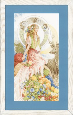 click here to view larger image of 4 Elements, The - Earth - Evenweave (counted cross stitch kit)