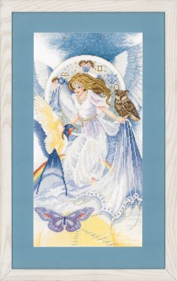 click here to view larger image of 4 Elements, The - Air - Aida (counted cross stitch kit)