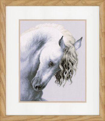 click here to view larger image of Impetuous Roan (counted cross stitch kit)