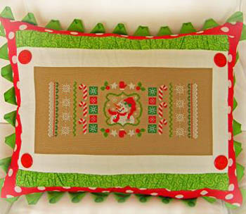 click here to view larger image of Christmas Candy Cane Sampler (chart)