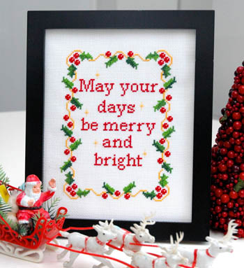 click here to view larger image of Merry and Bright (chart)