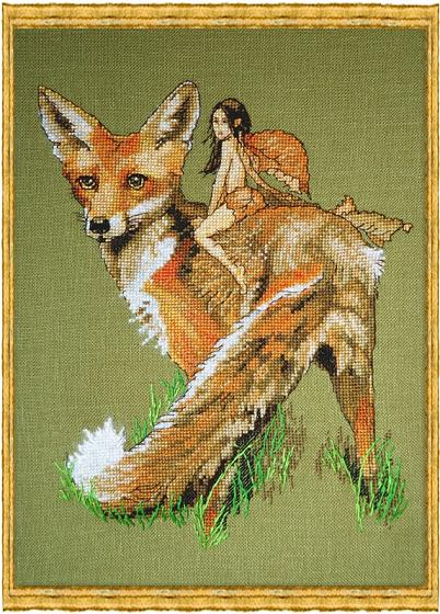 click here to view larger image of A-Renard Le Roux (kit) (counted cross stitch kit)