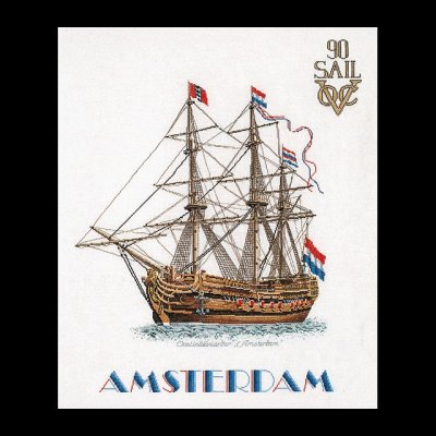 click here to view larger image of Sail 1990 (counted cross stitch kit)