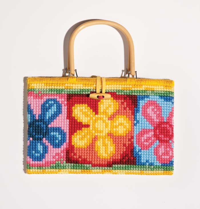 click here to view larger image of Chunky Cross Stitch Tapestry Bag (chunky cross stitch kit)