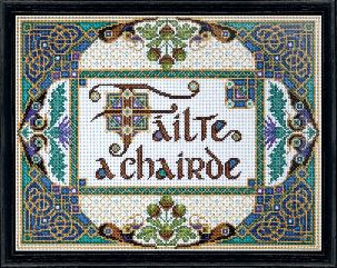 click here to view larger image of Welcome Friends (counted cross stitch kit)