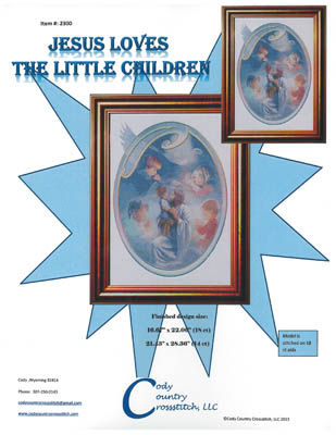 click here to view larger image of Jesus Loves the Little Children (chart)