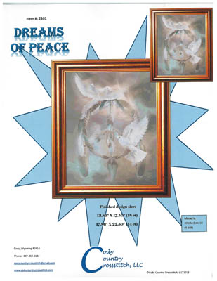 click here to view larger image of Dreams of Peace (chart)