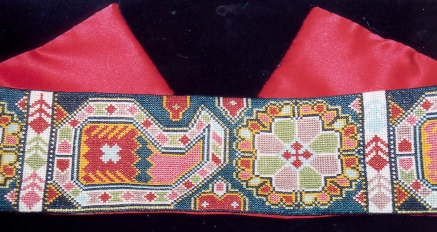 click here to view larger image of Afghani Belt (kit) (counted cross stitch kit)