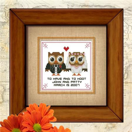 click here to view larger image of Hootie Love Vow Wedding (chart)