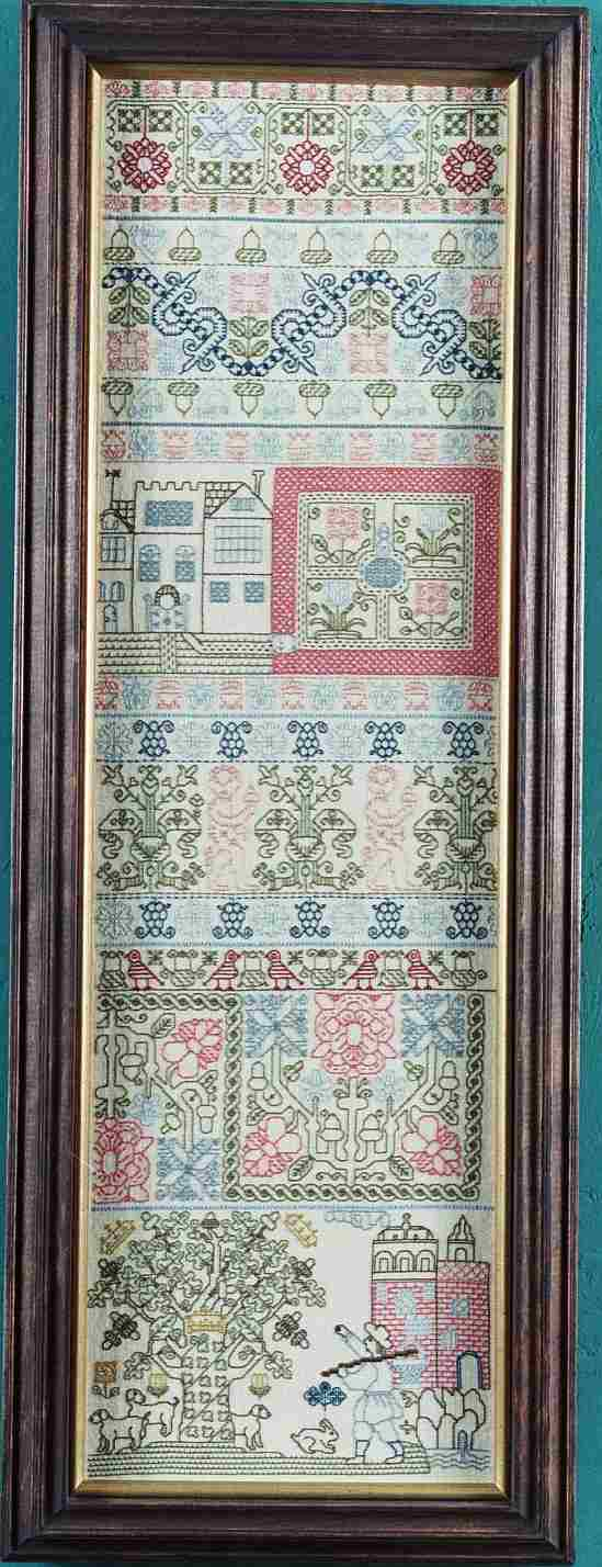 click here to view larger image of Boscobel Oak Sampler (kit) (counted cross stitch kit)