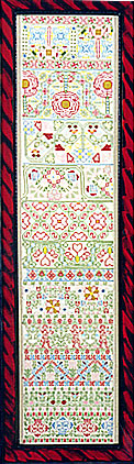 click here to view larger image of Boxer Band circa 1650, The (Kit) (counted cross stitch kit)