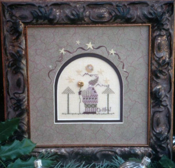 click here to view larger image of Merry and Bright Kit (counted cross stitch kit)