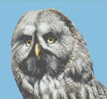click here to view larger image of Grey Owl (chart)