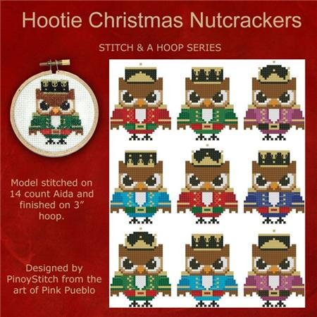 click here to view larger image of Hootie Christmas Nutcrackers (chart)