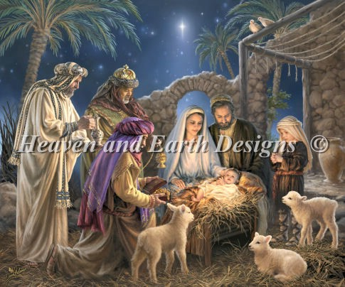 click here to view larger image of Nativity, The (chart)