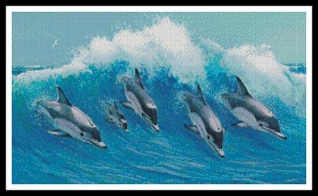 click here to view larger image of Leaping Dolphins (chart)