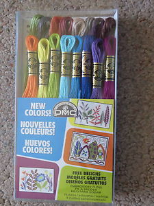 click here to view larger image of New DMC Color Embroidery Floss 16 pack (fiber)