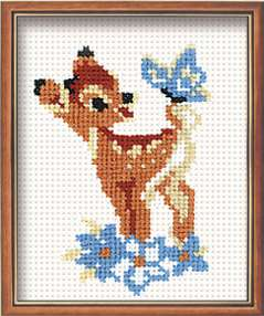 click here to view larger image of Bambi (counted cross stitch kit)