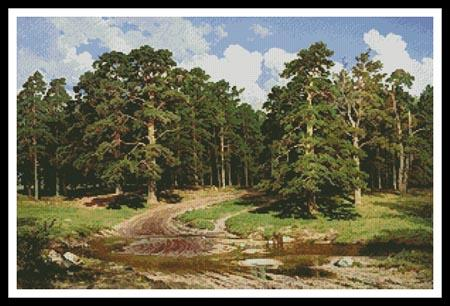 click here to view larger image of Pine Forest  (Ivan Shishkin) (chart)
