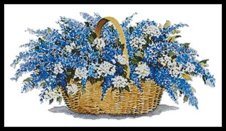 click here to view larger image of Lilac Basket (chart)