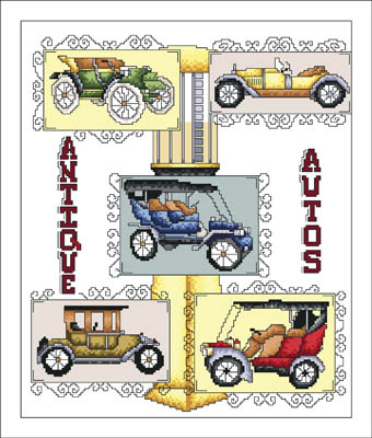 click here to view larger image of Antique Autos (chart)