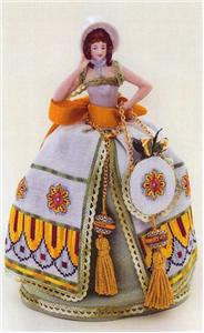 click here to view larger image of Alessia - A Deruta Pincushion Doll (chart)