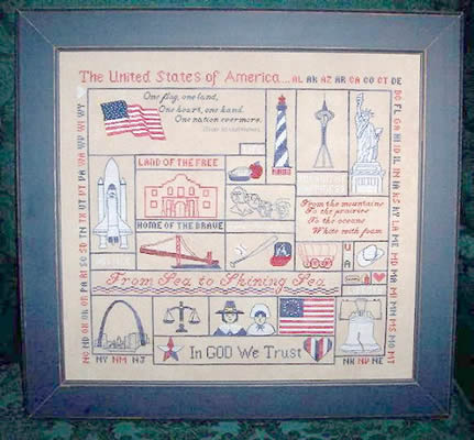 click here to view larger image of American Glory (chart)
